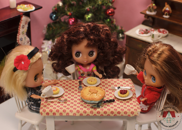 Mini Blythe Thanksgiving