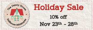 Holiday Sale 10% off Nov 23th - 28th