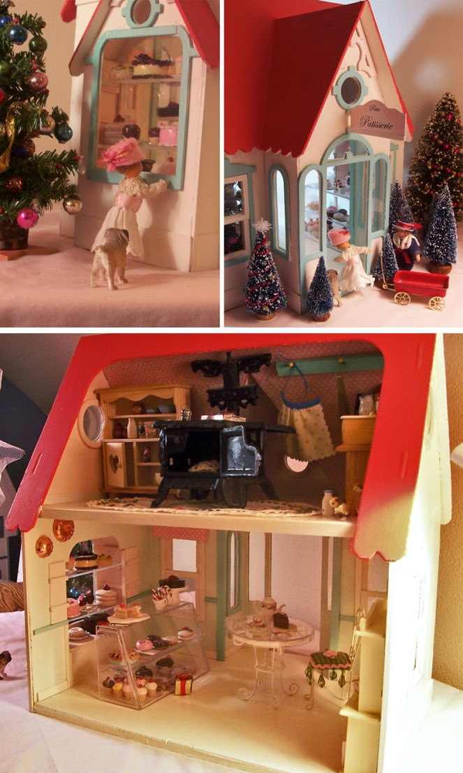 First Shots of the Dollhouse Bakery - 2006