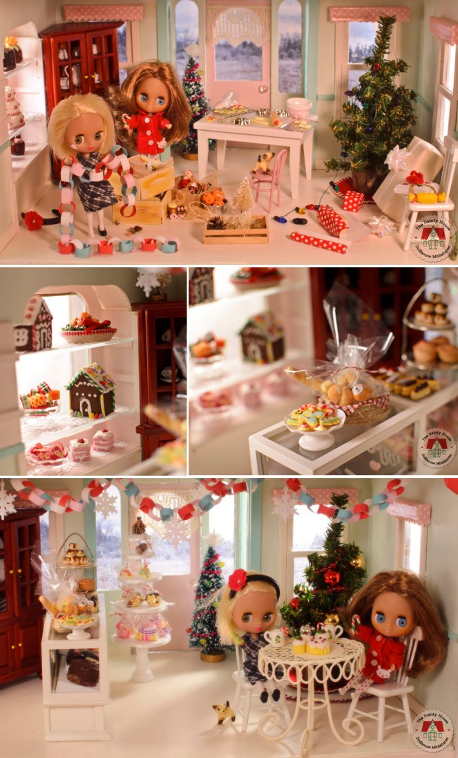 Christmas at the Dollhouse Bakery - 2017