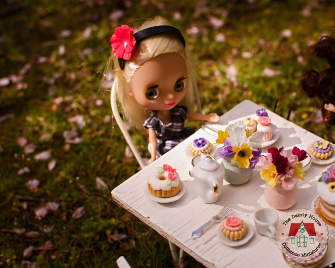 Miniature Spring Tea Party