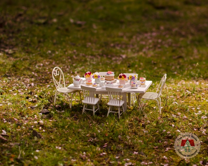 Miniature Spring Tea